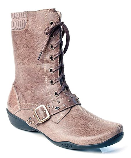 Khaki Distressed Cadette Boot