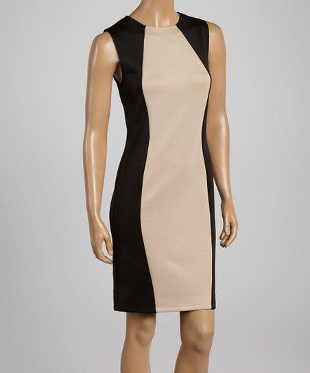Black & Stone Crew Neck Sheath Dress – Women