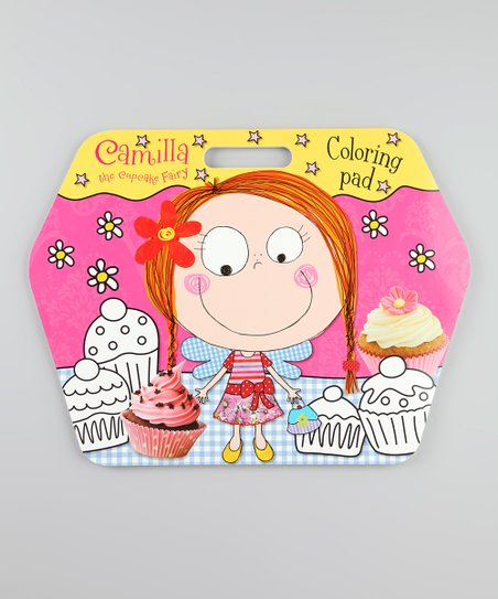 Camilla the Cupcake Fairy Giant Coloring Pad Paperback