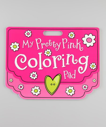 Pretty Pink Giant Coloring Pad Paperback