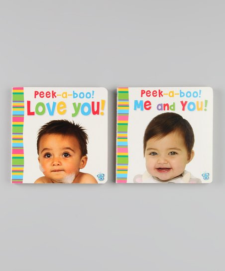 Busy Baby Peek-a-Boo! Board Books