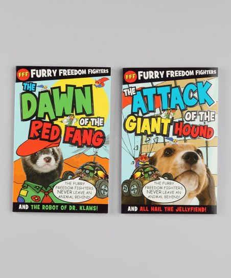 Furry Freedom Fighters Paperbacks