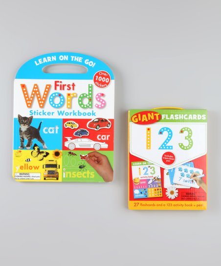 Learn on the Go Workbook & Flash Cards