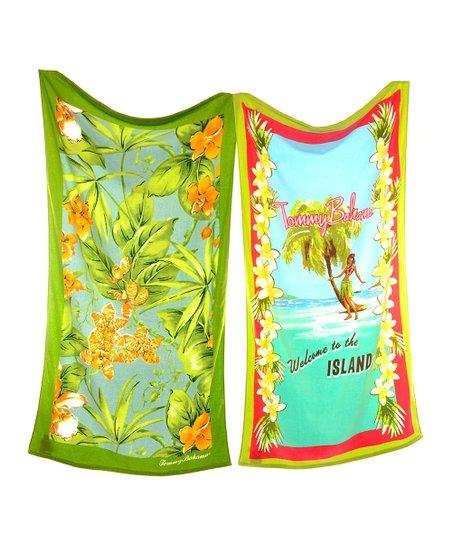 Hula Island & Paradise Point Tommy Bahama Beach Towel Set