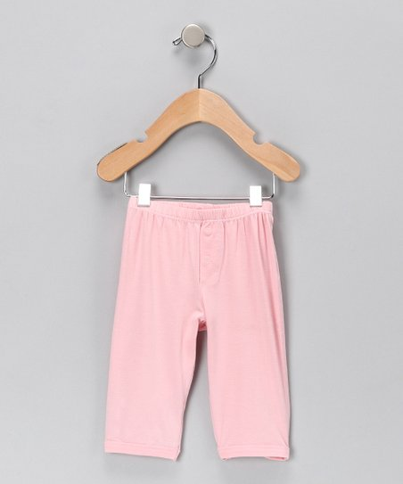 Light Pink Organic Pants - Infant