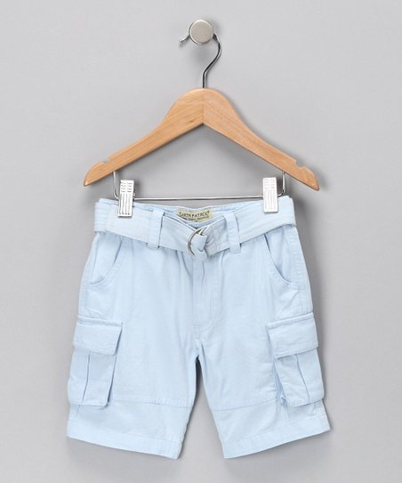Sky Organic Cargo Shorts - Infant, Toddler & Girls