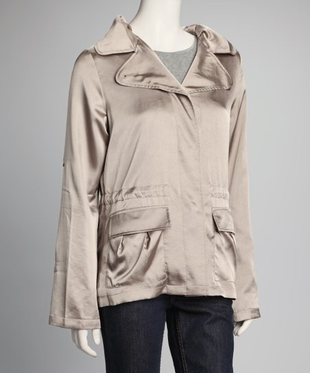 Silver Flap Pocket Jacket