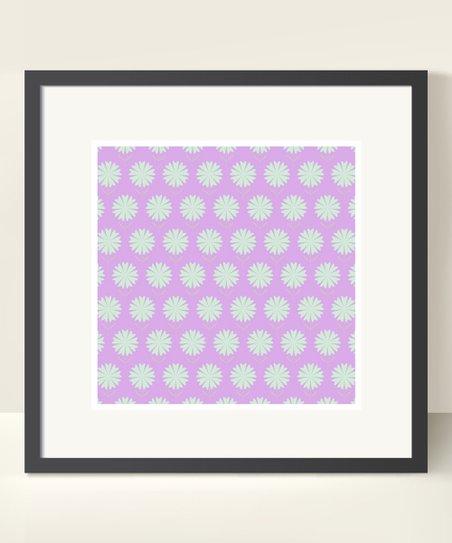 Light Purple Floral Print
