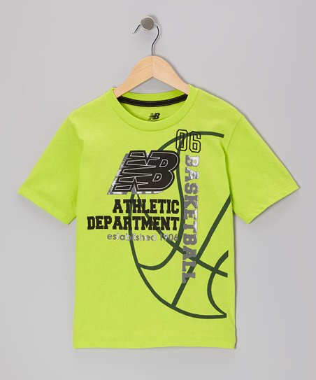 Green 'NB Athletic Department' Tee - Boys