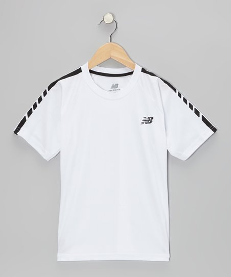 White Performance Tee - Boys