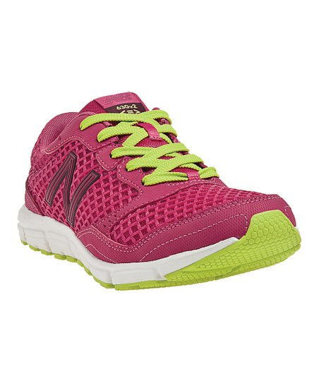 Pink & Yellow 630v2 Running Shoe