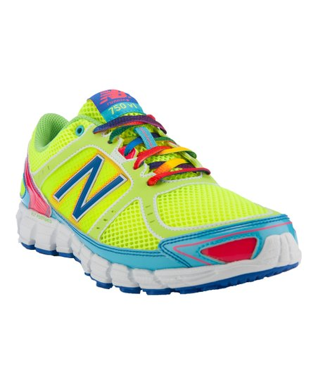 Neon Yellow 750 Running Shoe