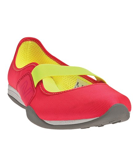 Diva Pink & Yellow 101 Slip-On Shoe - Women
