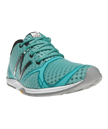 Teal & Black Minimus Zero Running Shoe
