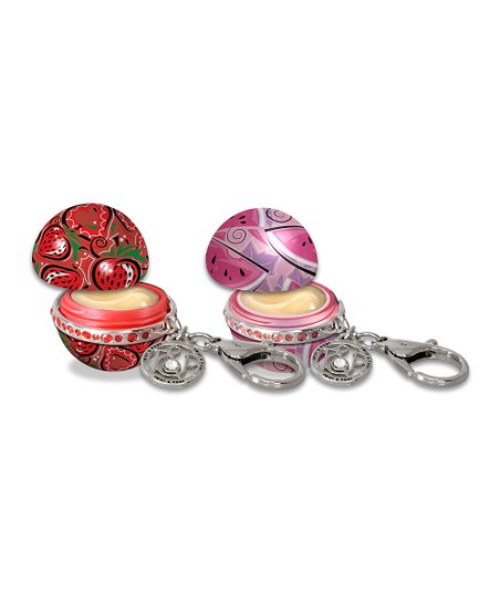 Straw-Very Berry &amp; What-A-Melon Blast Lip Balm Set
