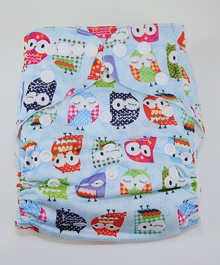 Mr. Owl Pocket Diaper