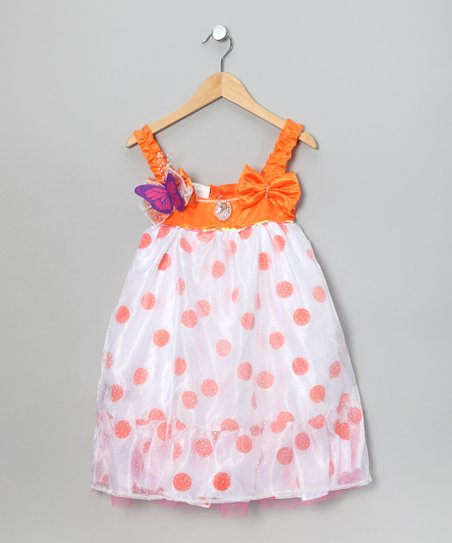 Polka Dot Fancy Nancy Dress