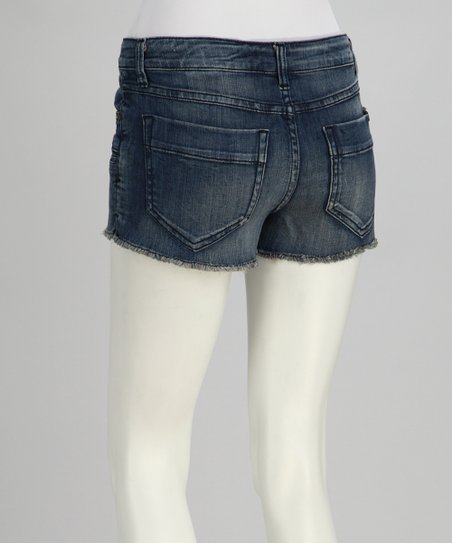 Blue Breeze Cutoff Shorts