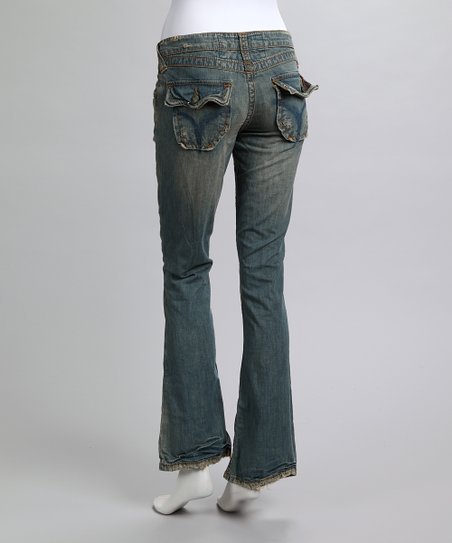 Crow Chekore Bootcut Jeans