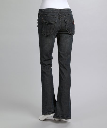 Charcoal Hawk Bootcut Jeans