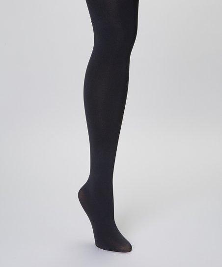 Black Opaque Stockings - Women & Plus