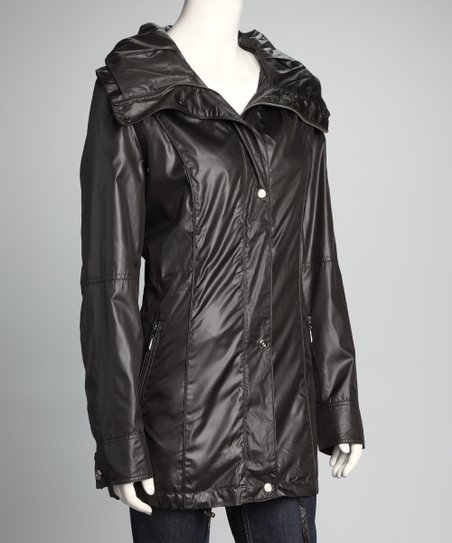 Black Drawstring Jacket