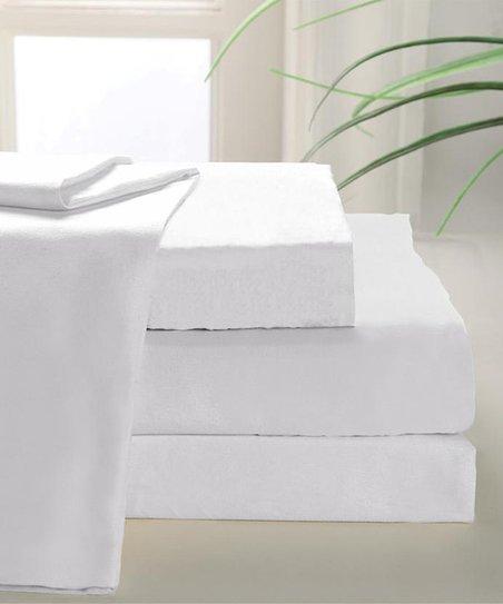 White 800-Thread Count MAK Sheet Set