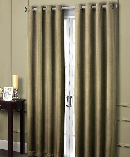 Sage Summit Grommet Blackout Curtain Panel