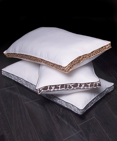 Wild Comfort King-Size Pillow - Set of Two