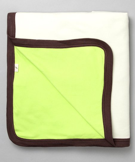 Kiwi Favorite Organic Receiving Blanket