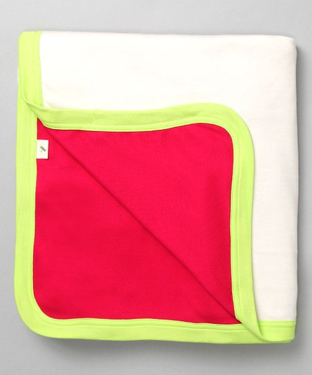 Petunia Favorite Organic Receiving Blanket