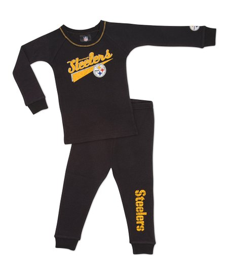 Black Pittsburgh Steelers Tee & Pants - Infant