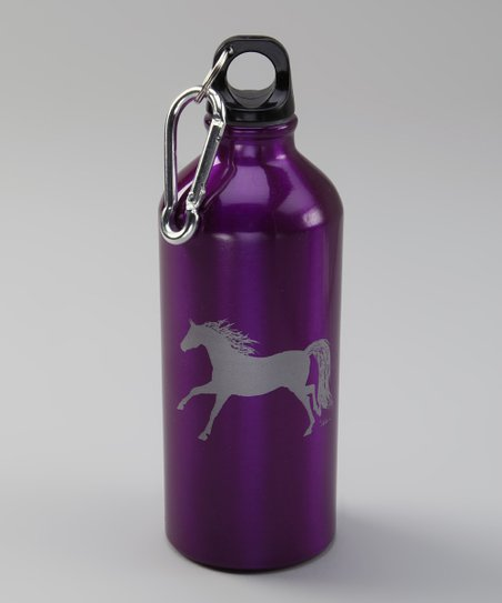 Purple Horse 20-Oz. Sports Bottle