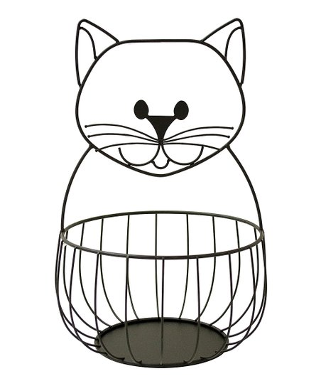 Cat Metal Basket