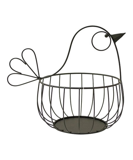 Bird Metal Basket