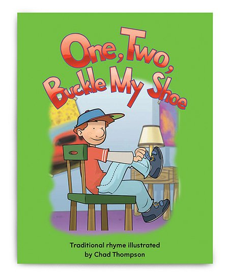 One, Two, Buckle My Shoe Lap Reader Paperback