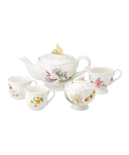 Butterfly Meadow Five-Piece Mini Tea Set