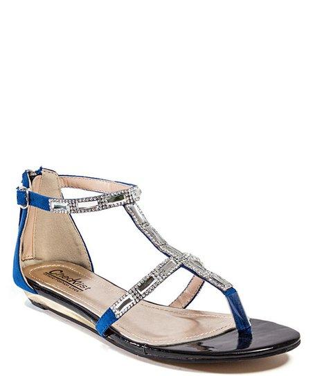 Blue Future Sandal