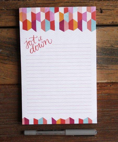 'Jot It Down' Notepad