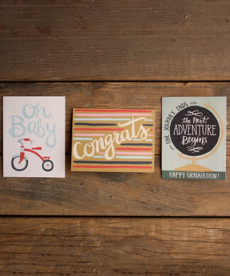 Three-Card Mixed Occasion Set
