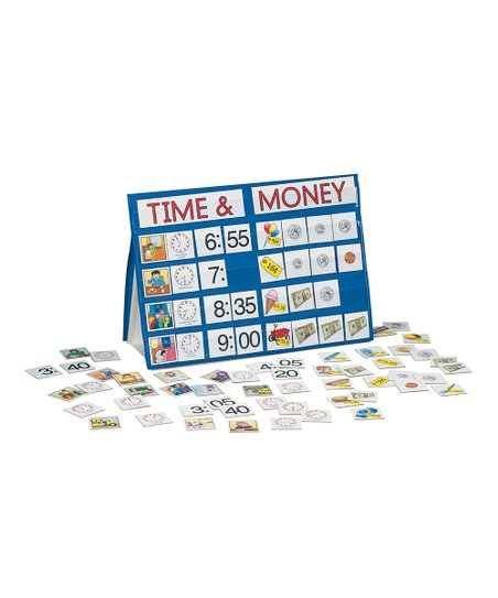 Time & Money Tabletop Pocket Chart