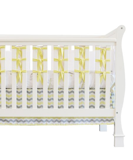 Yellow City of Dreams Crib Bedding Set