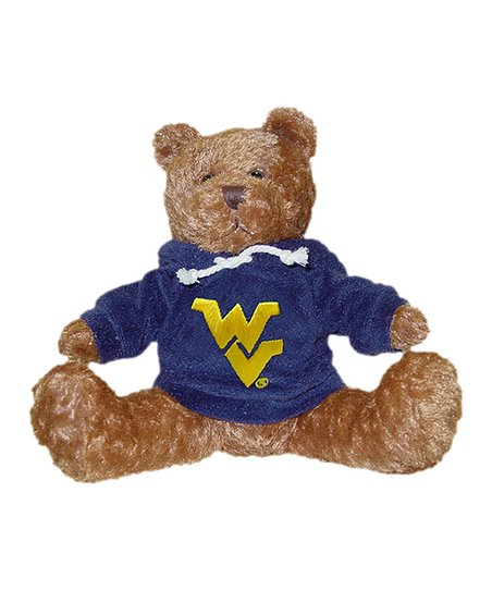 West Virginia Mountaineers Hoodie Bear Plush Toy