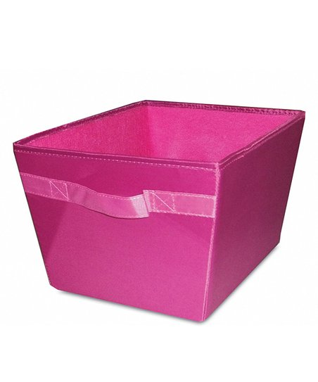 Raspberry & Light Pink Storage Bin