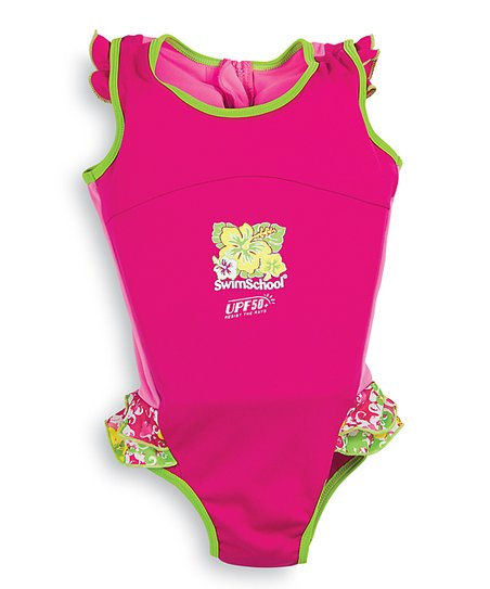 Pink Floatation UPF 50+ Swim Trainer