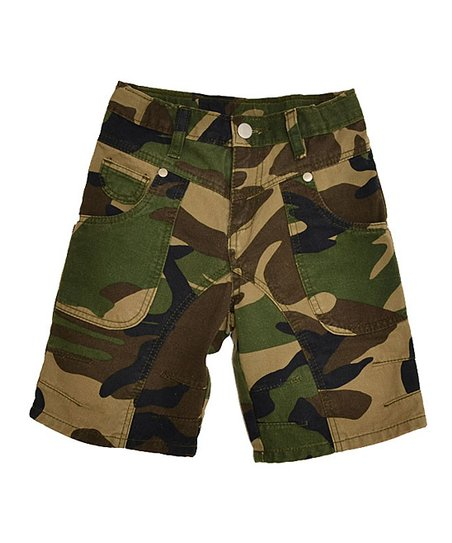 Brown Camo Shorts - Toddler & Boys