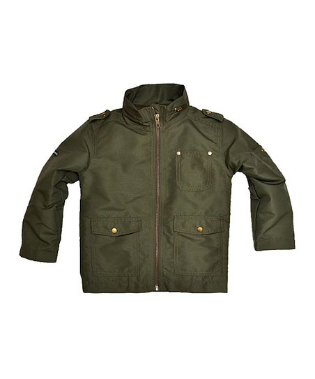 Green Lion Jacket - Toddler & Boys