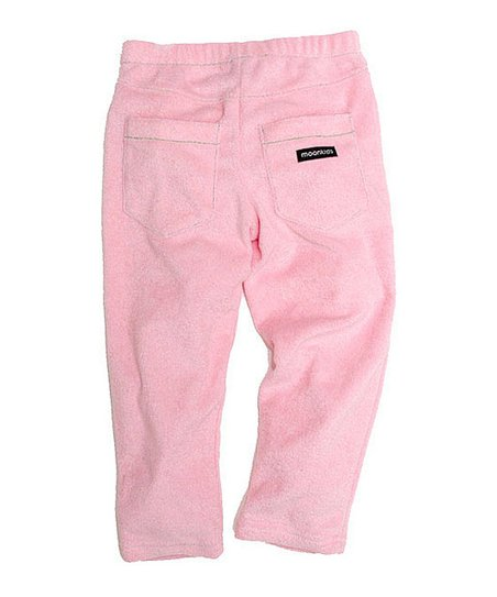 Soft Pink Velour Pants - Infant, Toddler &amp; Kids