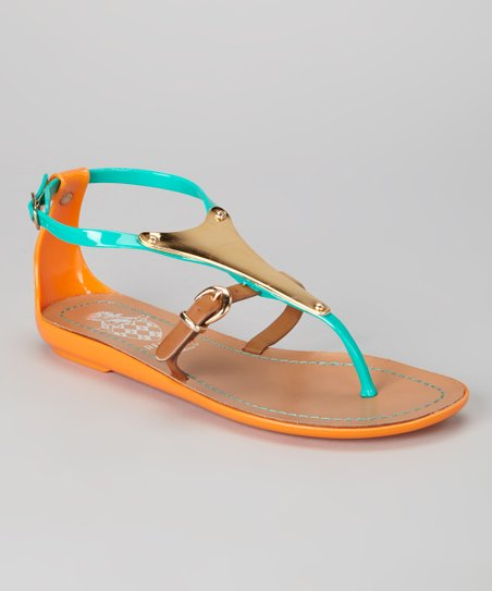 Green Jelly Sandal