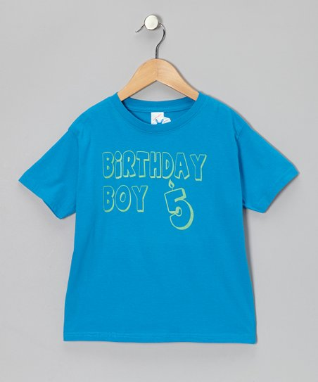 Cobalt 'Birthday Boy 5' Tee - Toddler & Boys